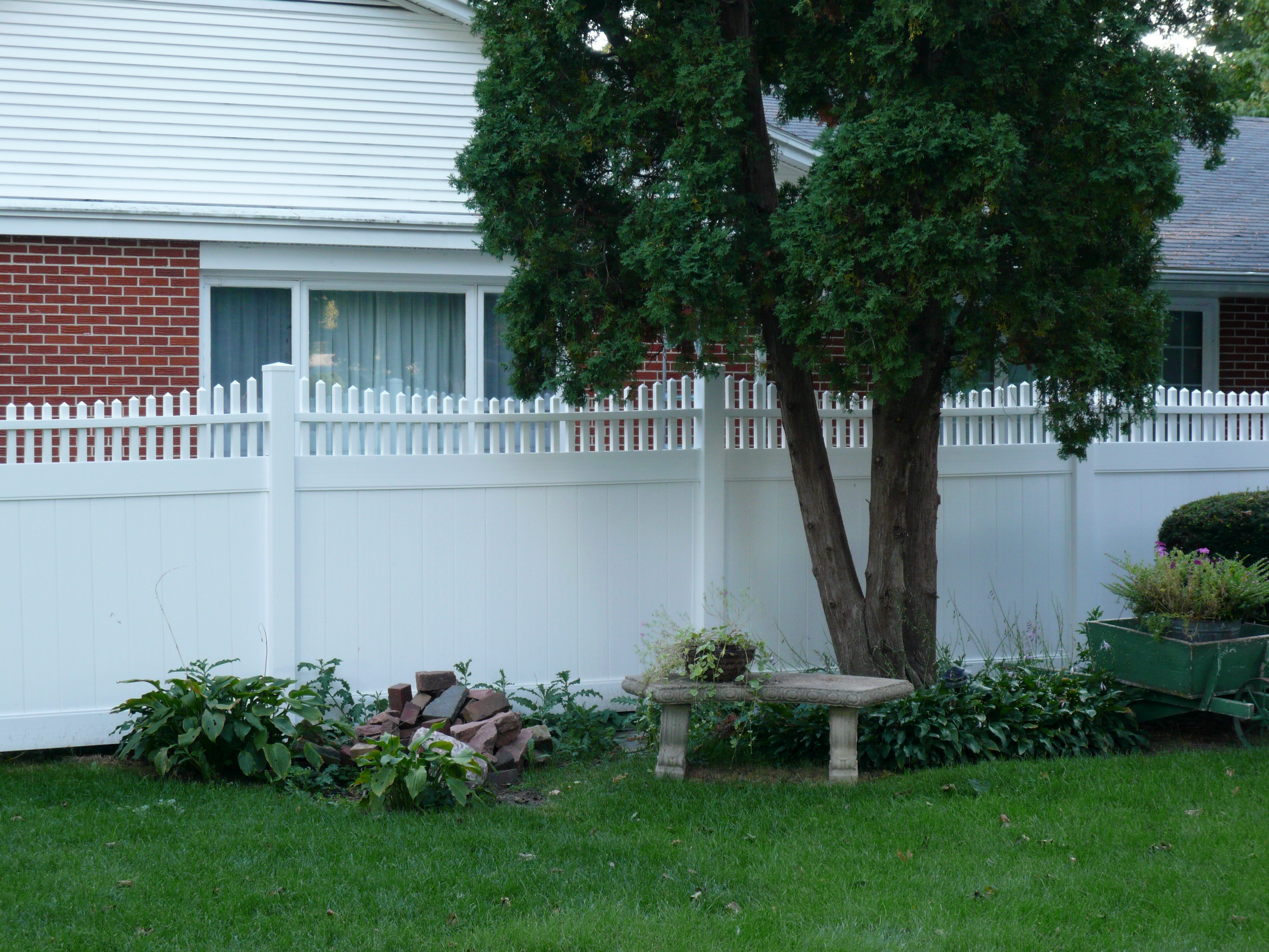 arrow fence shelter vinyl gallery fences oklahoma city